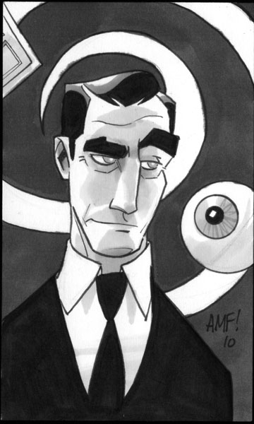 Rod Serling Cartoon