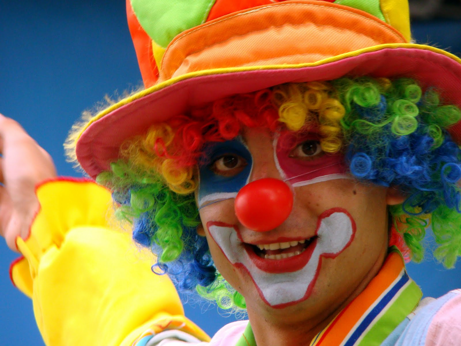 happy clown faces pictures - HD1600×1200