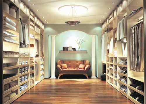 Classic with a twist luxury closets purge and splurge - Walk in closet designs pictures ...