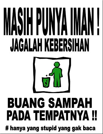 Motto Tentang Sampah Trayek Angkutan Kota << Pemerintah Kota Cirebon Dra Zubaidahs Blog Contoh Slogan Pendidikan