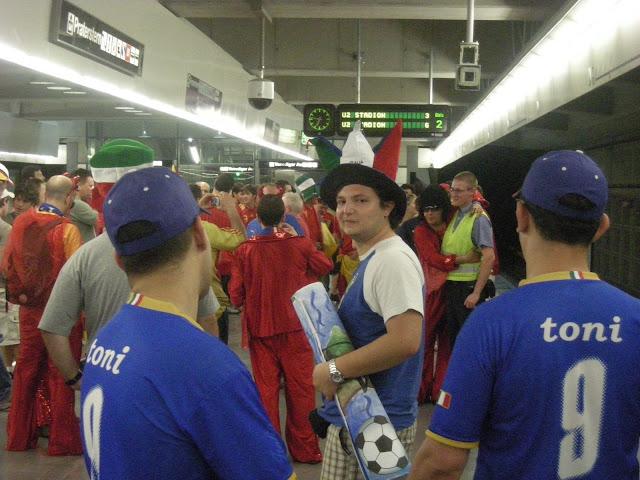 Euro 2008, Spain v Italy