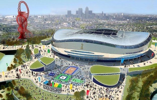 Spurs' new stadium