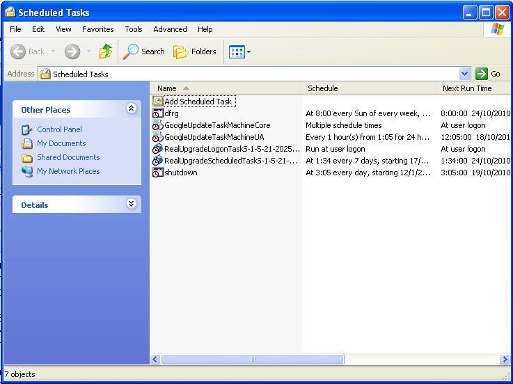 Thai Windows Information: การตั้งเวลาปิดเครื่องคอมพิวเตอร์
