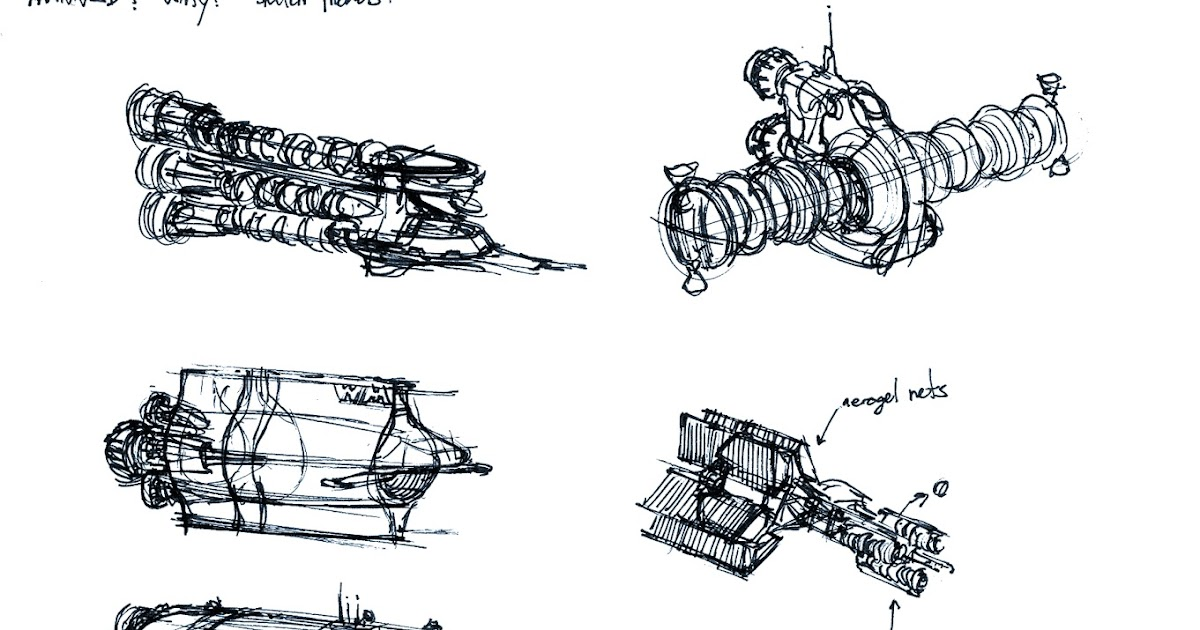 V Ling Garbage Sketches