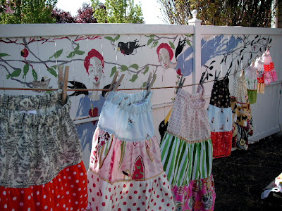 skirts on the line