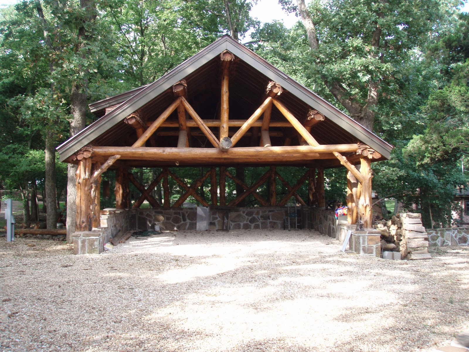 Log Carport Plans Pdf Woodworking