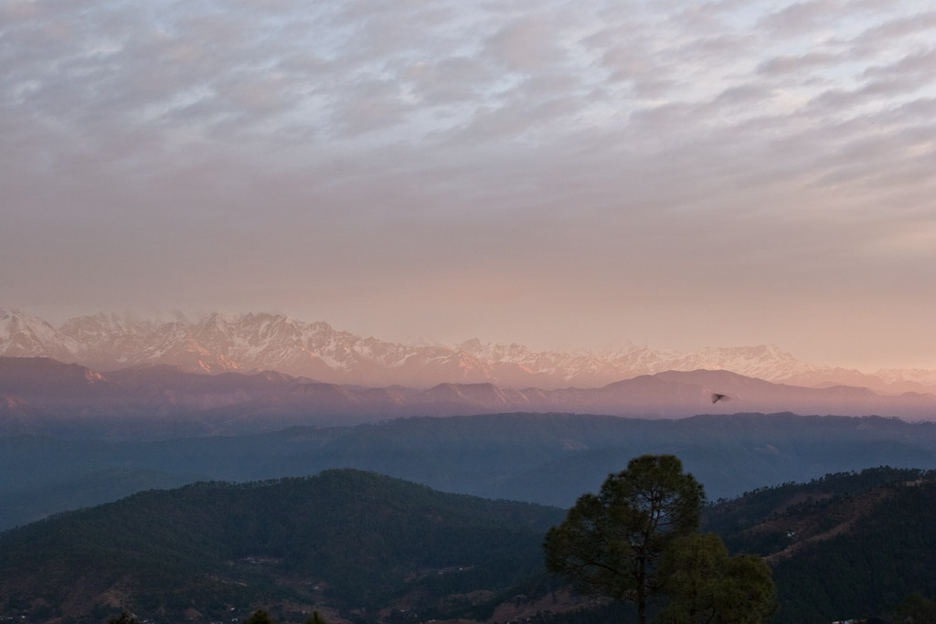 The Himalaya from Kausani