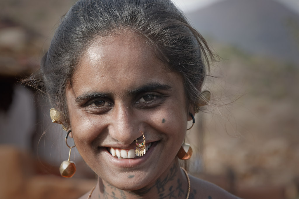 A typical smile at Kileshwar