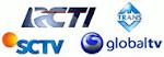 RCTI, Trans TV, SCTV, Global TV