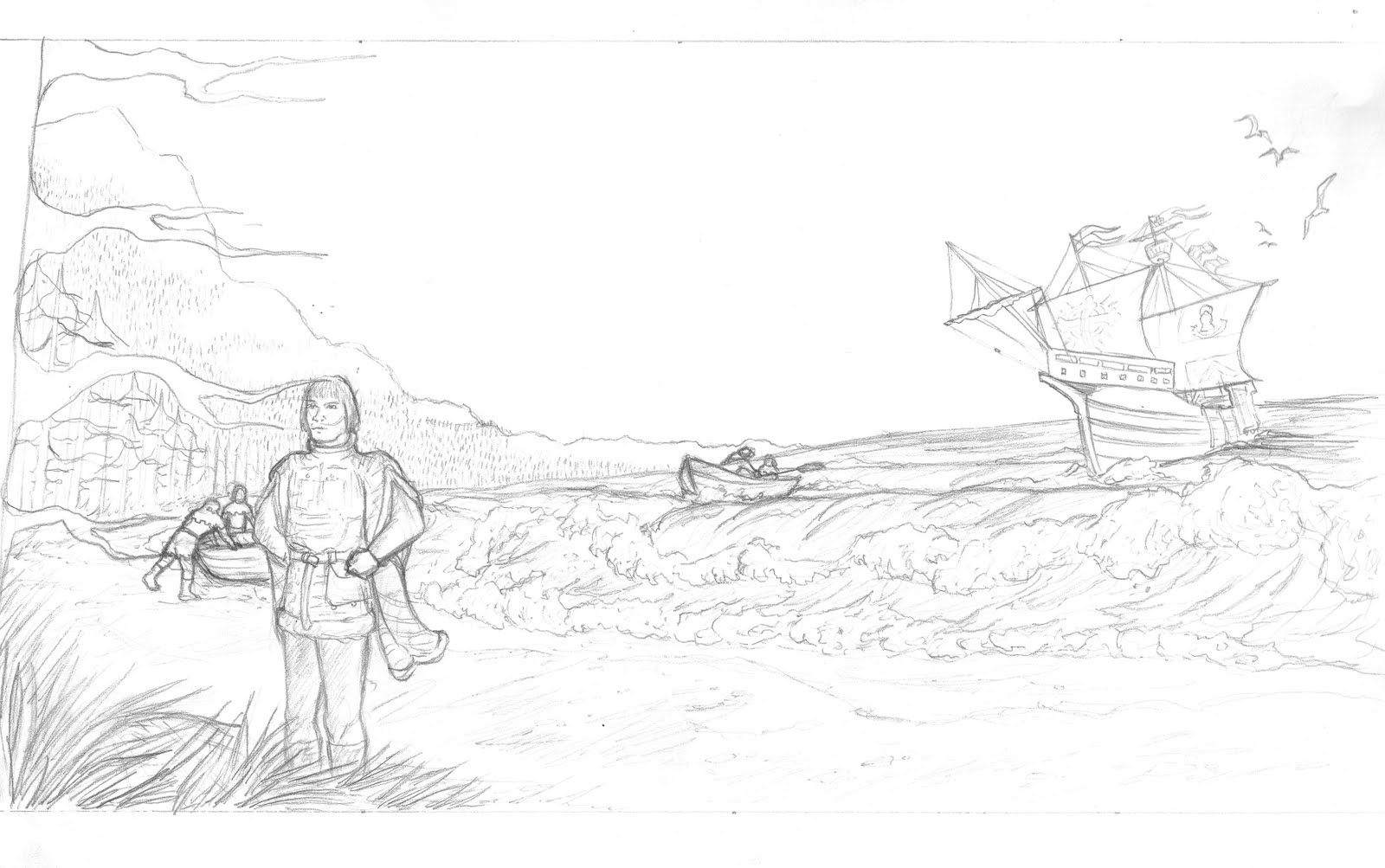 john cabot coloring pages - photo#27