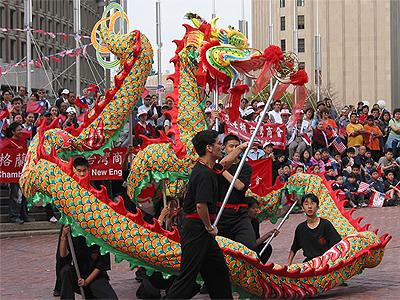 Dragon dance video