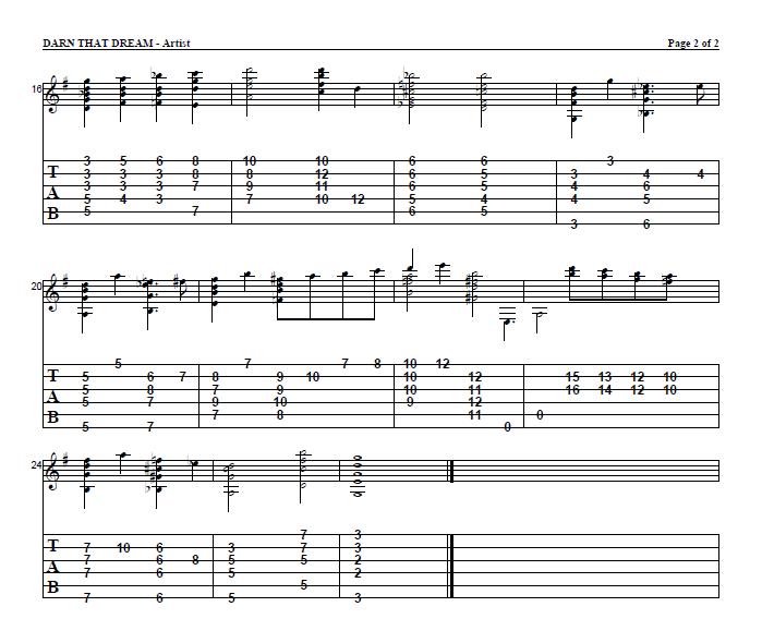 Guitar jazz guitar tabs : Jazz guitar tabs