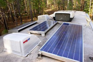 Solar panels – huge boondocking advantage