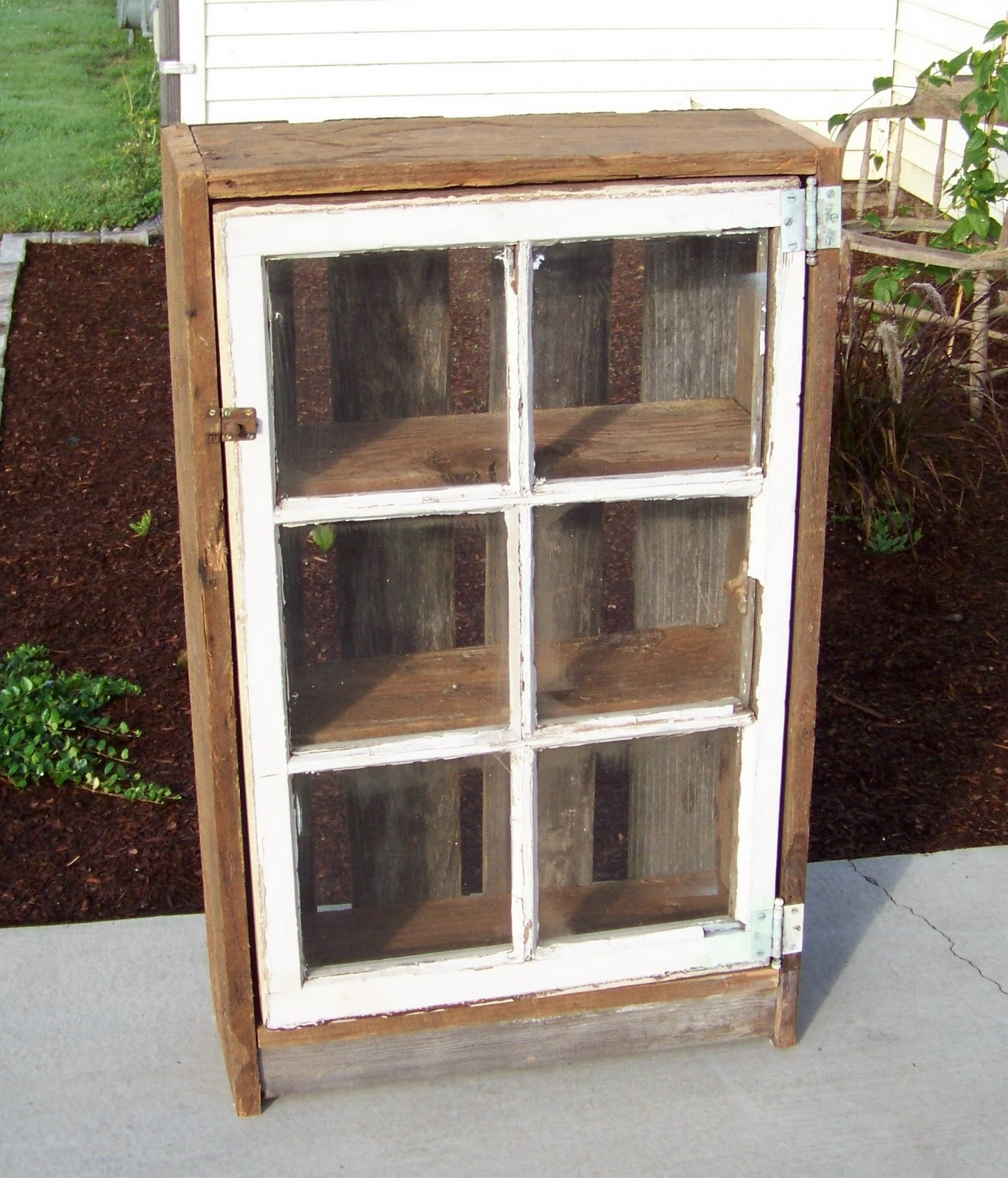 RUSTIQUES Old WIndow Cabinet