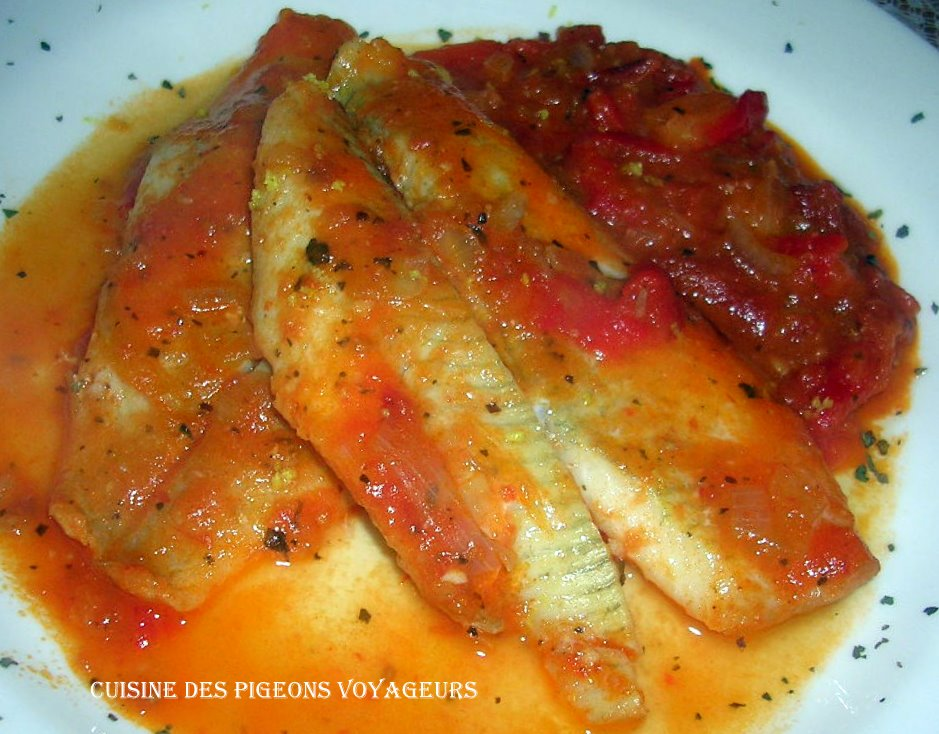 C hier de recettes des pigeons voyageurs filets de - Cuisiner poisson blanc ...