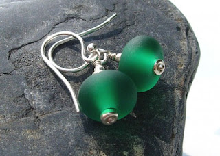 4d9e636a6 ... cee gee jewellery, in her coriandr shop she has the most beautiful sterling  silver jewellery. My first choice is these lovely green lampwork earrings.