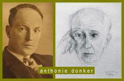 Laurens Jz. Coster: Anthonie Donker -- Achterbalcon
