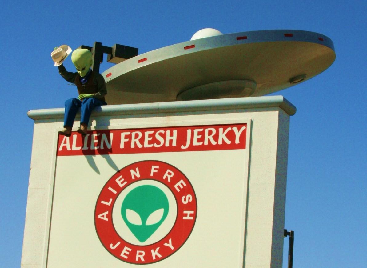 What Alien Fresh Jerky