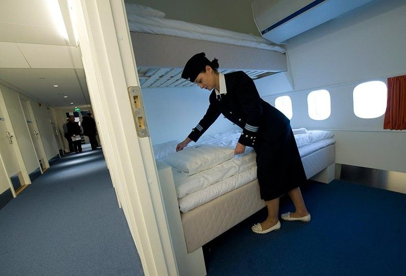 Jumbo Hostel –the world's first hostel housed in a Boeing 747