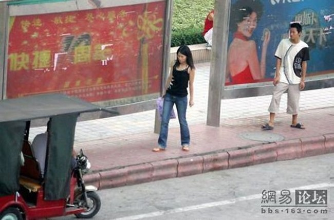 Pickpocketing in China