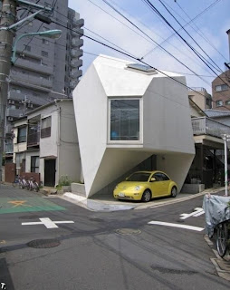 A strange house in Tokyo