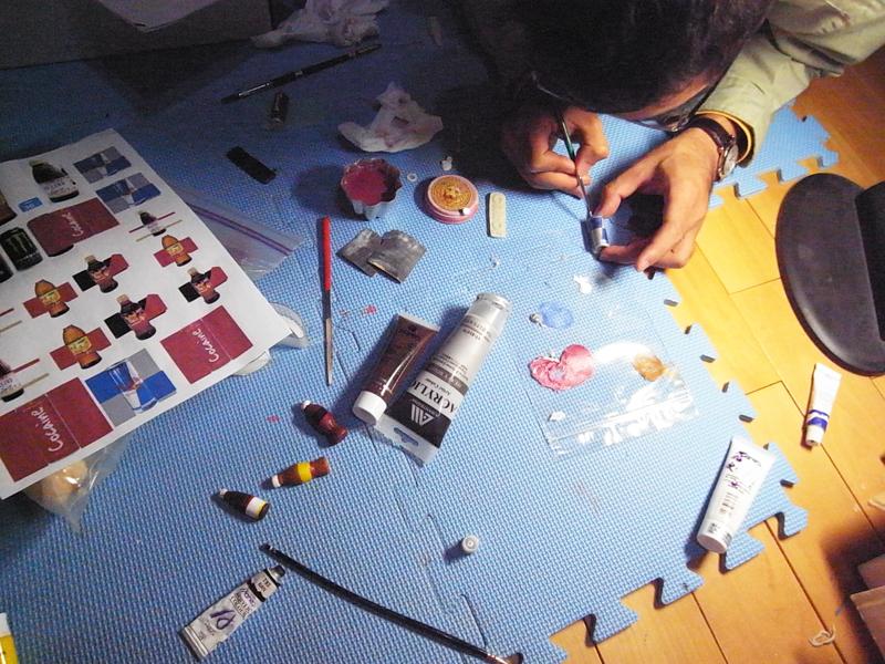ayuna 設計手感訂製禮物: 五心級禮物秀-活力充沛提神飲料吸鐵組