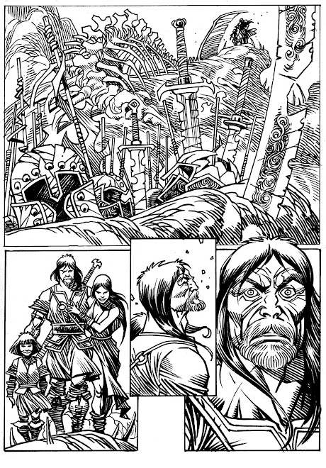 MAGALLANES:PENCIL AND INK MERIGGI / SCRIPT WALTER GOMEZ
