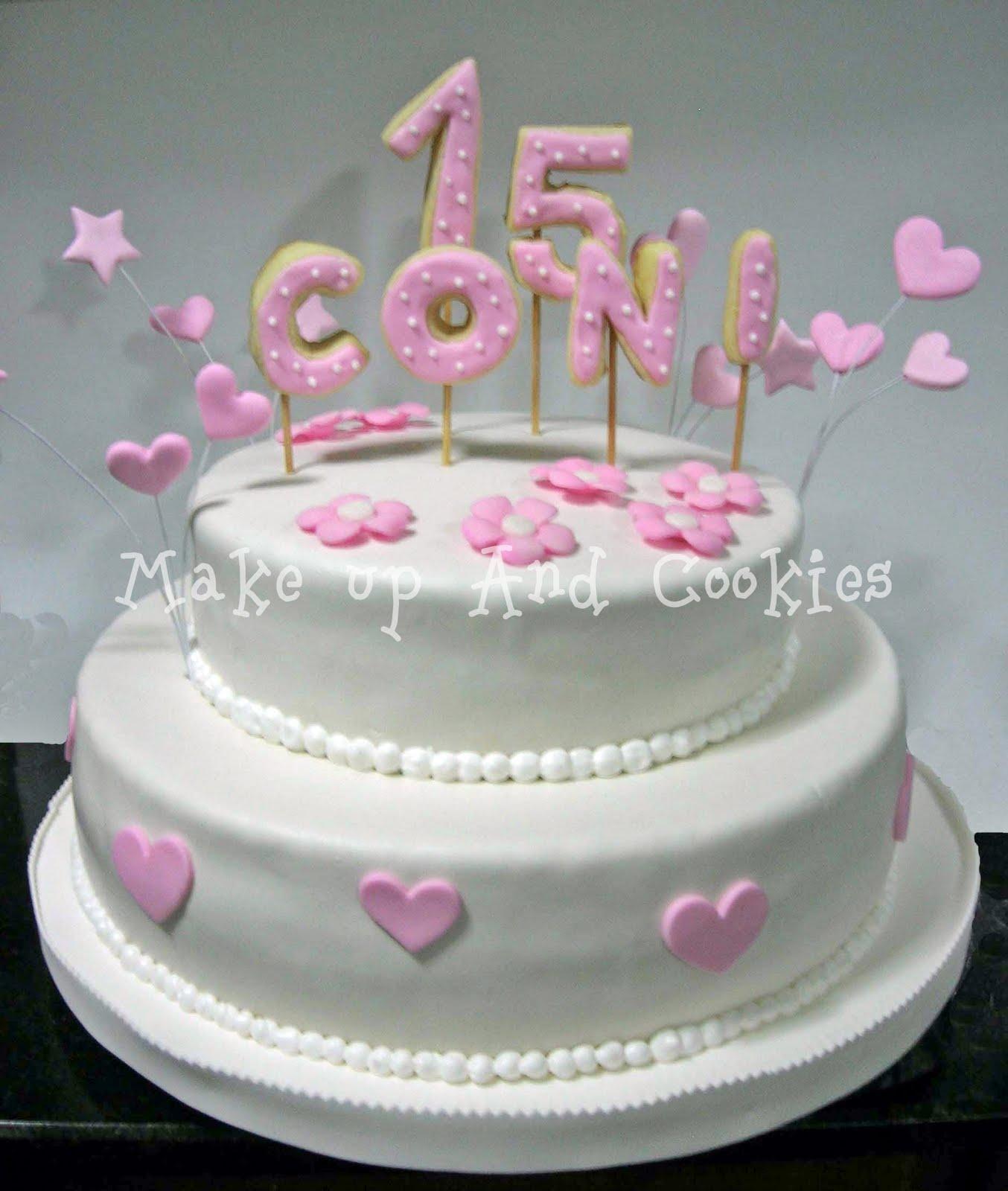 tortas para fiestas de 15 a os