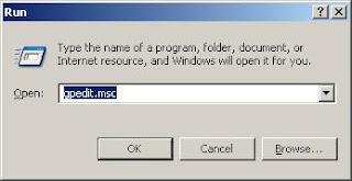 Mematikan autorun.inf (Proteksi Komputer Tanpa Antivirus)