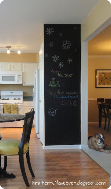 Home Makeover Chalkboard Paint