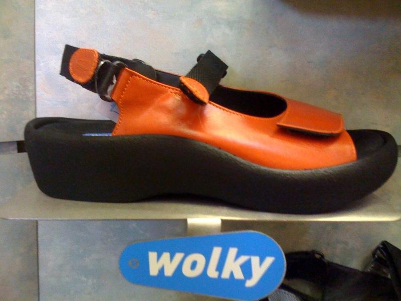 eeba960635 Podiatry Shoe Review  Comfortable Women s Sandal - The Wolky
