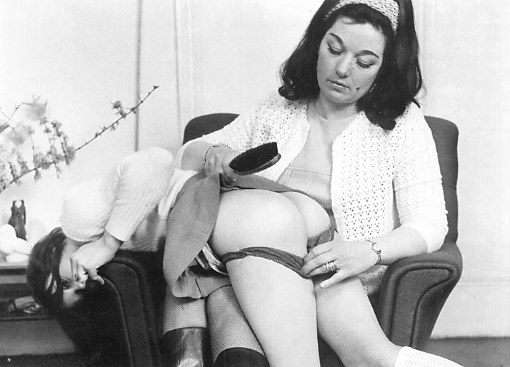 Vintage spank