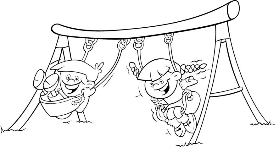Colorear dibujos infantiles: Dibujos para colorear actividades de verano