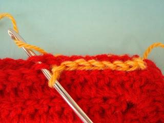 union cuadrado al crochet