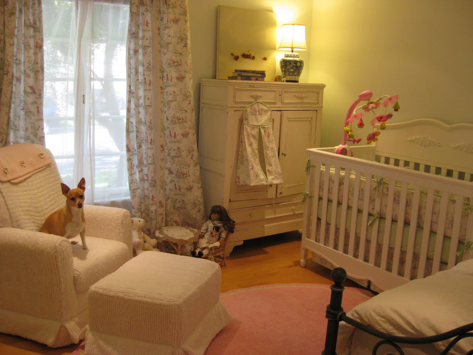And Now I Want To Share With You Pictures Of The Baby Nursery Nearly Complete