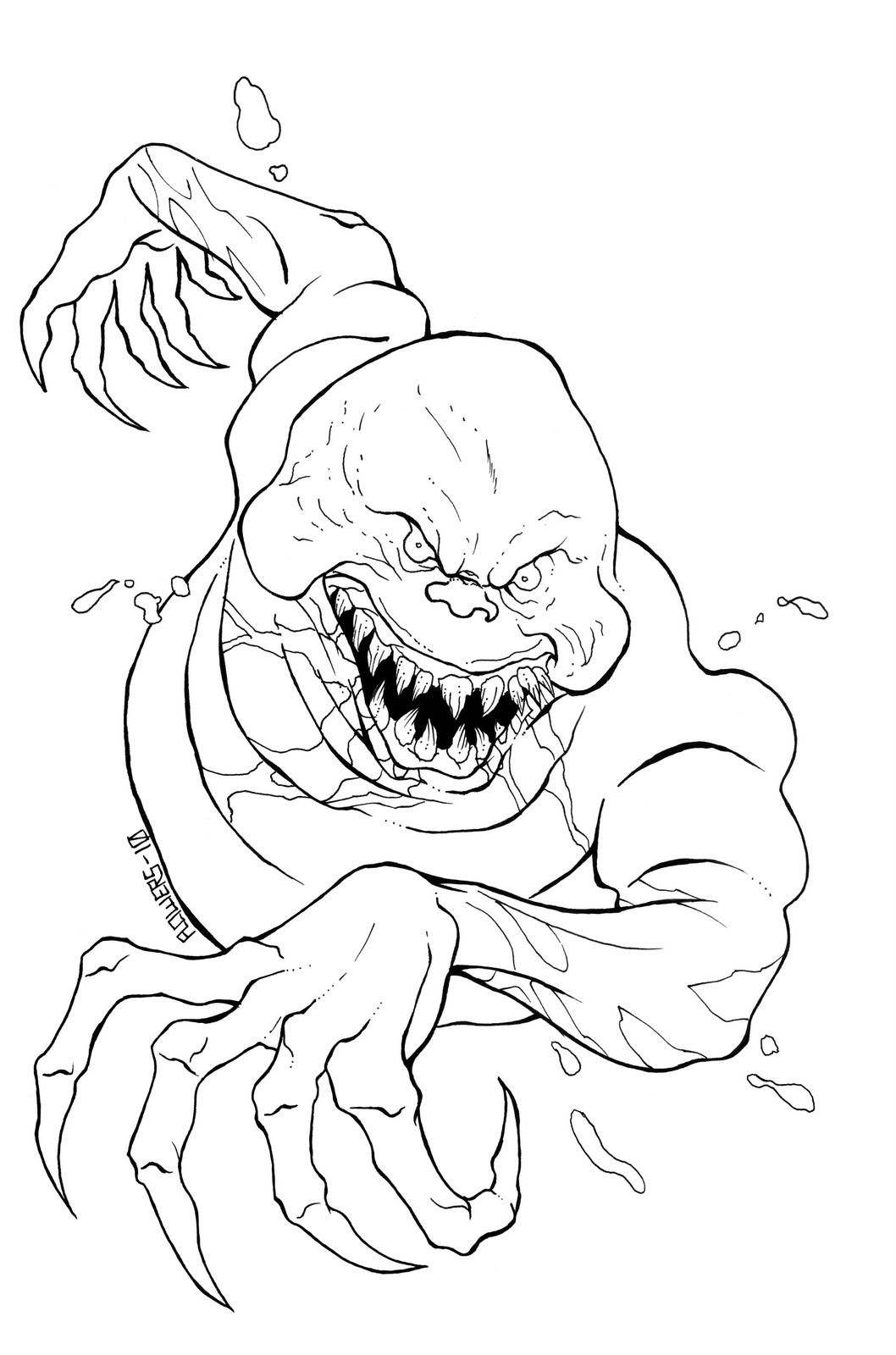 Monster From Ghostbusters