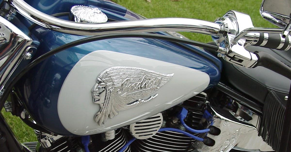 Custom Indian Motorcycle Parts Tank Emblems