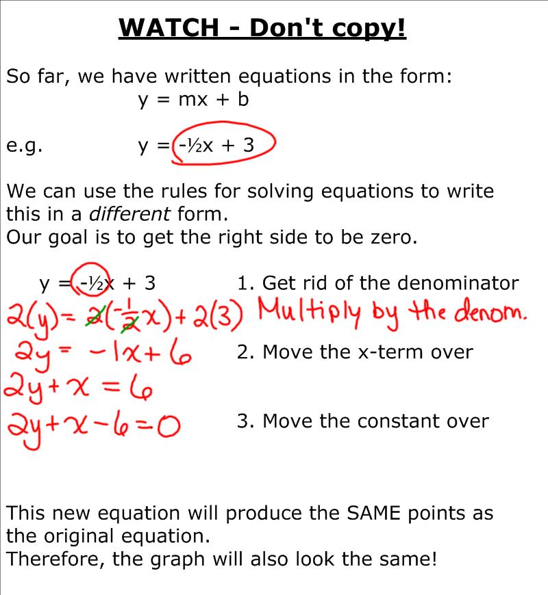 How to write a mathematical formula
