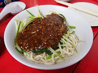 Qun Zhong Eating House - noodle with minced beef