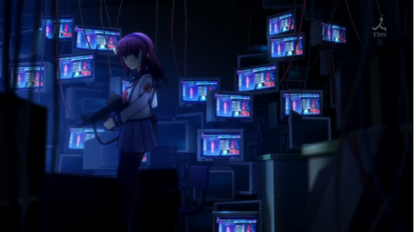 Angel Beats Op distracting abstractions: spring 2010 review: angel beats!