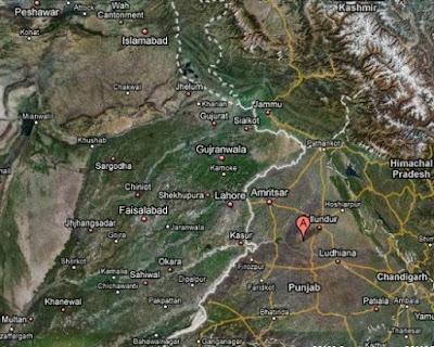 map of punjab ���������� ���� ���������� ����������� �������