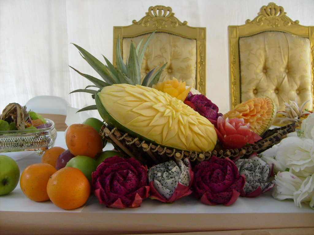 Fruit And Vegetable Carving Fruit Carving For Wedding
