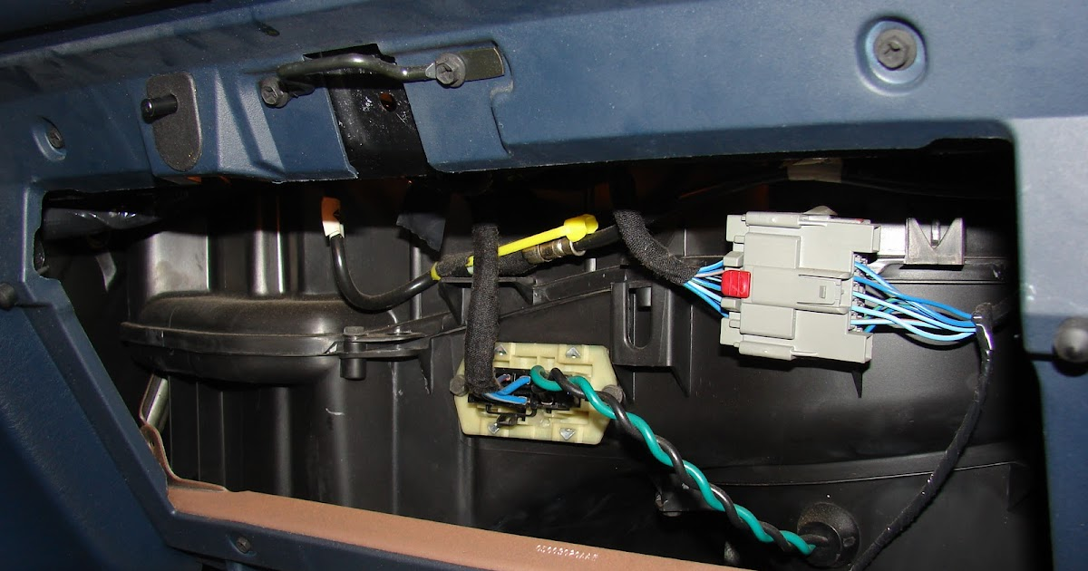 2000 Grand Caravan Radio Wiring Diagram 2 Way Lighting My Commentary And Technical Help: Dodge Fan Only Works On High.
