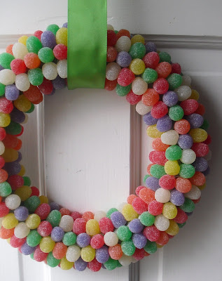 Gumdrop Christmas Wreath, crafts, kids crafts, Christmas crafts