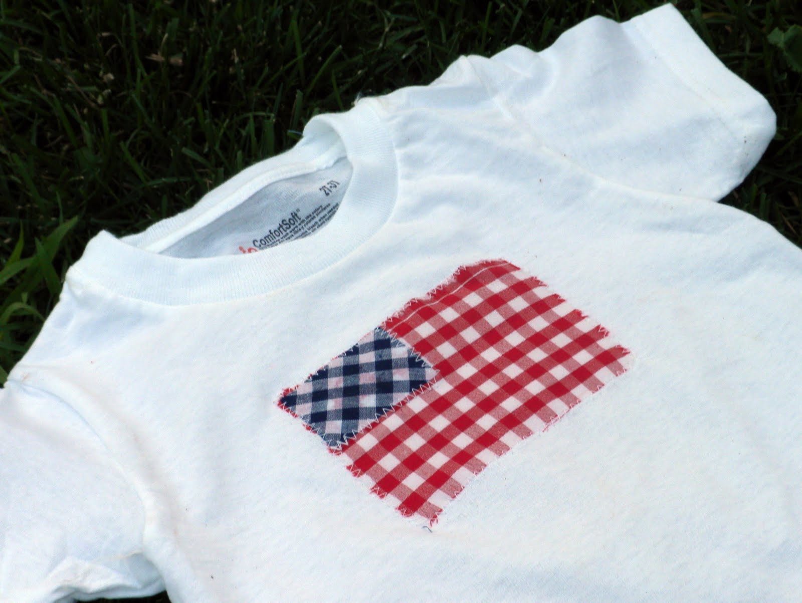 4c734ba0c Simple flag shirts for the 4th