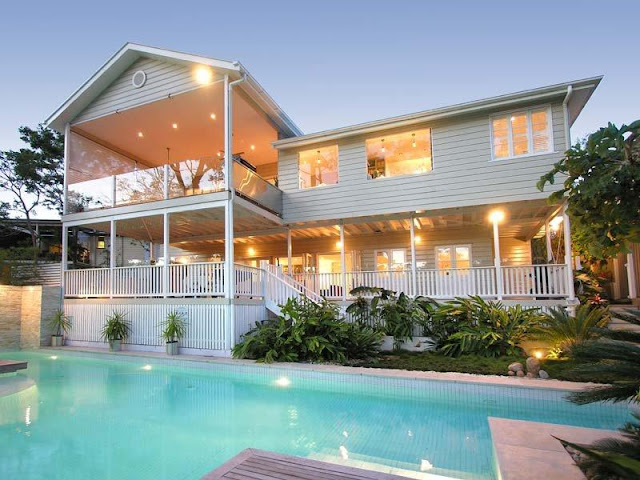 Driftwood interiors the perfect queenslander for Pool home show brisbane