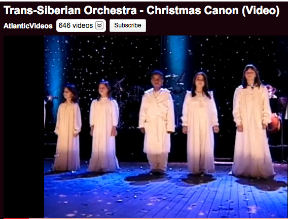 Christmas Canon.Jefferson S Rebels Video Children Sing Christmas Canon