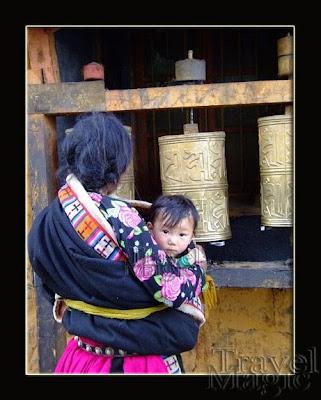 Barkor Lhasa Tibet prayer