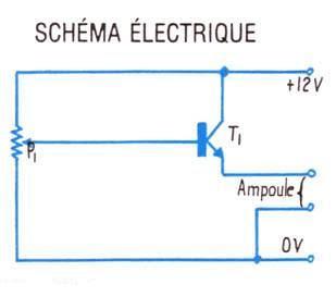 Schema electrique lumiere simple