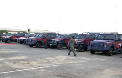 LAGOS POLICE APCs
